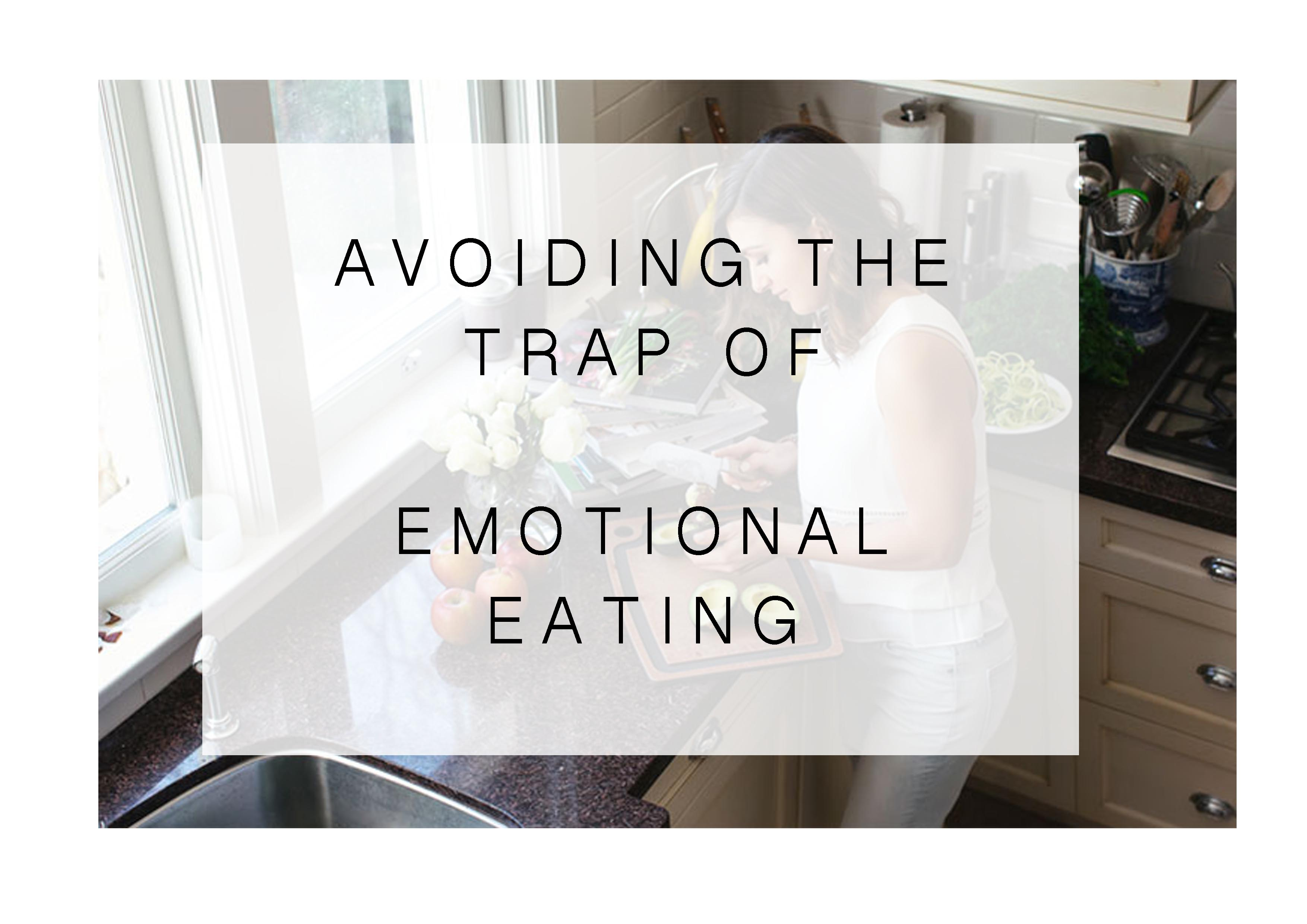 How to avoid being an emotional eater